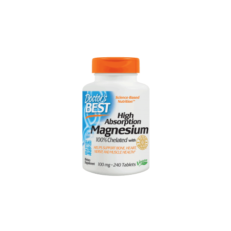 Chelat Magnezu - High Absorption Magnesium (240 tabl.) Doctor's Best