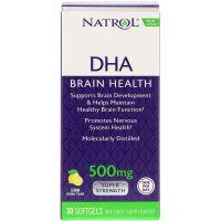 DHA - Kwas dokozaheksaenowy 500 mg (30 kaps.) Natrol