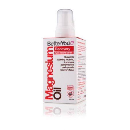 Magnesium Oil Recovery - Olejek magnezowy + Czarny Pieprz + Kamfora + Skórka Cytryny (100 ml) BetterYou
