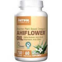 Ahiflower Oil - Olej z nasion Nawrotu polnego 750 mg (60 kaps.) Jarrow Formulas