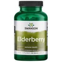 Elderberry 575 mg - Czarny Bez (120 kaps.) Swanson