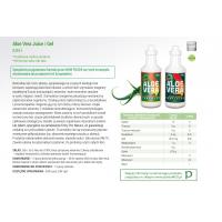 BIO Aloe Vera Juice 99,7% - Sok z Aloesu (940 ml) NOW Foods