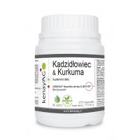 AKBAMAX i BCM-95 - Kadzidłowiec i Kurkumina (270 kaps.) Arjuna Natural Extracts