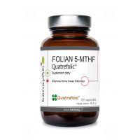 Folian 5-MTHF - aktywny Kwas Foliowy Quatrefolic (60 kaps.) KenayAG