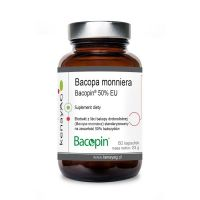 Bakopa (Brahmi) - Bacopa Monniera Bacopin 50% bakozydów (60 kaps.) Sabinsa Corporation
